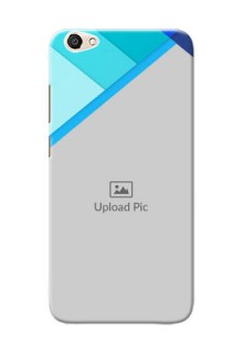 Vivo Y67 Blue Abstract Mobile Cover Design