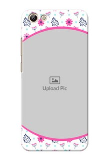 Vivo Y69 Colourful Flowers Mobile Cover Design