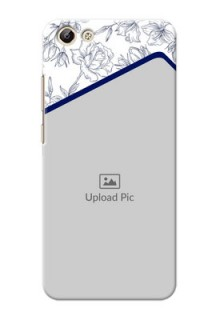 Vivo Y69 Floral Design Mobile Cover Design