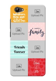 Vivo y71 4 image holder with multiple quotations Design