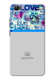 Vivo Y71i Mobile Covers Online: Colorful Love Design