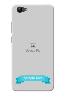 Vivo Y71i Personalized Mobile Covers: Simple Blue Color Design
