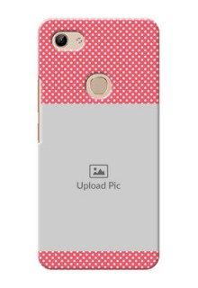 Vivo Y81 Custom Mobile Case with White Dotted Design