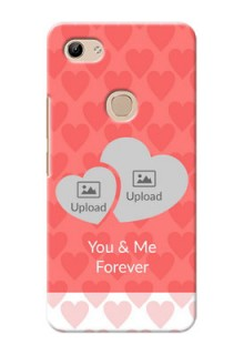 Vivo Y81 personalized phone covers: Couple Pic Upload Design