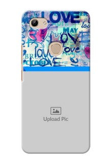 Vivo Y81 Mobile Covers Online: Colorful Love Design