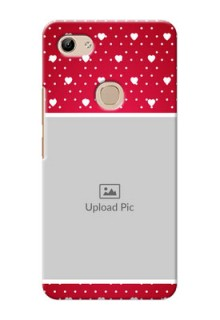 Vivo Y81 custom back covers: Hearts Mobile Case Design