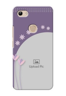 Vivo Y81 Phone covers for girls: lavender flowers design