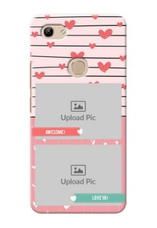 Vivo Y81 custom mobile covers: Photo with Heart Design