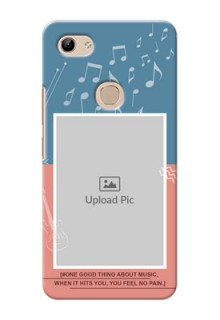 Vivo Y81 Phone Back Covers with Color Musical Note Design