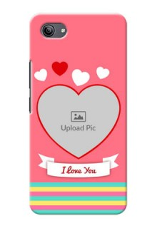 Vivo Y81i Personalised mobile covers: Love Doodle Design