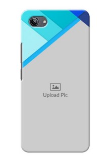 Vivo Y81i Phone Cases Online: Blue Abstract Cover Design