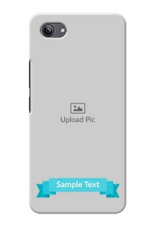 Vivo Y81i Personalized Mobile Covers: Simple Blue Color Design