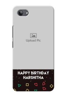 Vivo Y81i custom mobile cases with confetti birthday design