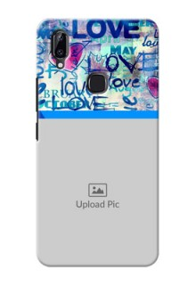 Vivo Y83 Pro Mobile Covers Online: Colorful Love Design