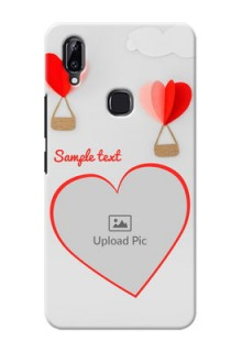 Vivo Y83 Pro Phone Covers: Parachute Love Design