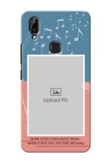 Vivo Y83 Pro Phone Back Covers with Color Musical Note Design