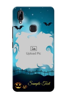 Vivo Y83 Pro Personalised Phone Cases: Halloween frame design