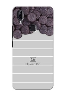 Vivo Y83 Pro Custom Mobile Covers with Oreo Biscuit Design