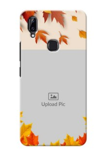 Vivo Y83 Pro Mobile Phone Cases: Autumn Maple Leaves Design