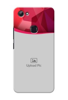 Vivo Y83 Red Abstract Mobile Case Design