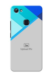 Vivo Y83 Blue Abstract Mobile Cover Design