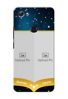 Vivo Y83 2 image holder with galaxy backdrop and stars  Design