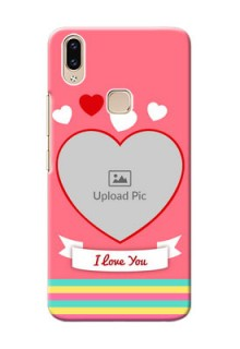 Vivo Y85 Personalised mobile covers: Love Doodle Design