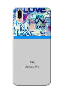 Vivo Y85 Mobile Covers Online: Colorful Love Design