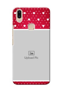 Vivo Y85 custom back covers: Hearts Mobile Case Design