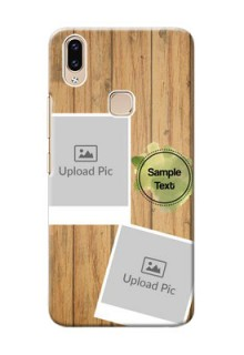 Vivo Y85 Custom Mobile Phone Covers: Wooden Texture Design