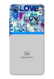 Vivo Y90 Mobile Covers Online: Colorful Love Design