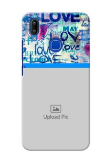 Vivo Y91 Mobile Covers Online: Colorful Love Design