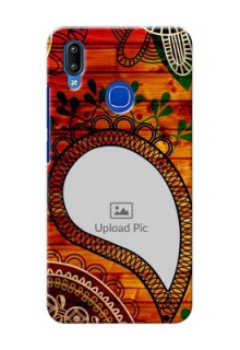 Vivo Y91 custom mobile cases: Abstract Colorful Design
