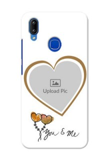 Vivo Y91 customized phone cases: You & Me Design