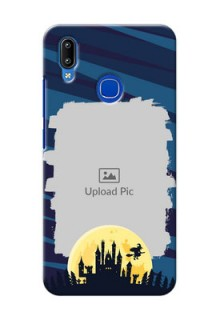 Vivo Y91 Back Covers: Halloween Witch Design