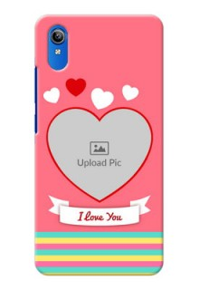 Vivo Y91i Personalised mobile covers: Love Doodle Design