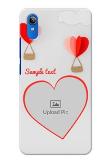 Vivo Y91i Phone Covers: Parachute Love Design