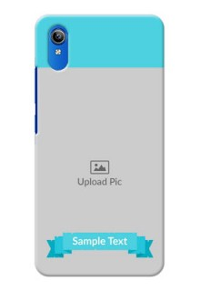 Vivo Y91i Personalized Mobile Covers: Simple Blue Color Design