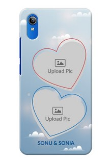 Vivo Y91i Phone Cases: Blue Color Couple Design