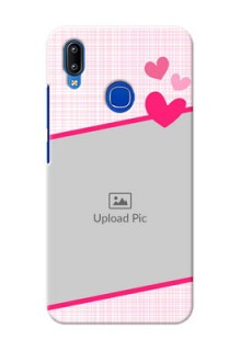 Vivo Y93 Personalised Phone Cases: Love Shape Heart Design