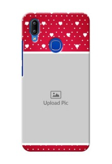 Vivo Y93 custom back covers: Hearts Mobile Case Design