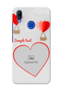 Vivo Y95 Phone Covers: Parachute Love Design