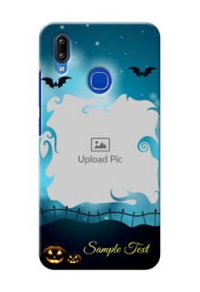 Vivo Y95 Personalised Phone Cases: Halloween frame design