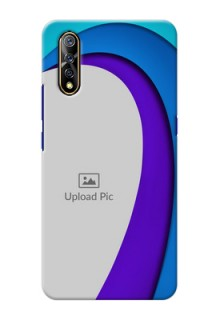 Vivo Z1x custom back covers: Simple Pattern Design