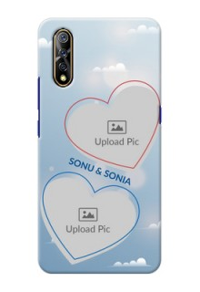 Vivo Z1x Phone Cases: Blue Color Couple Design