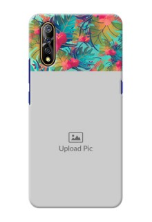 Vivo Z1x Personalized Phone Cases: Watercolor Floral Design