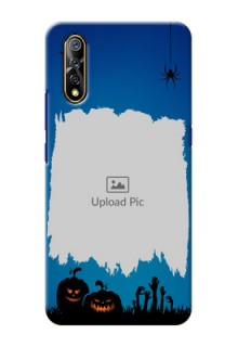 Vivo Z1x mobile cases online with pro Halloween design