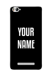 Xiaomi 4I Your Name on Phone Case