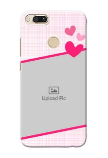 Xiaomi Mi 5X Pink Design With Pattern Mobile Cover Design