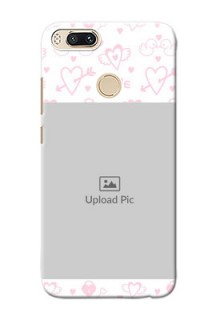 Xiaomi Mi 5X Flying Hearts Mobile Back Cover Design